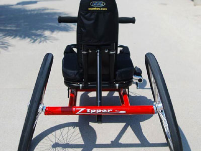 zipper kid handcycling